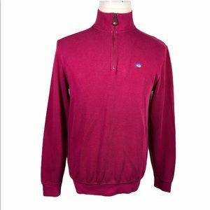 Southern Tide Quarter Zip Sweater Pullover